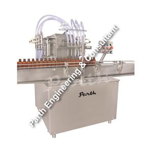 Automatic Eight Head Volumetric Liquid Filling Machine Model-palf-200