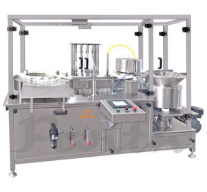 Automatic Twelve Head Vial Filling & Stoppering Machine