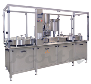 Injectable Powder Filling Machine 120vpm Model-PIPF-120