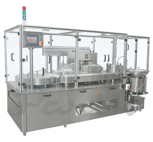 Injectable Servo Bas Motion Type Filling and Stoppering-Machine PPFS