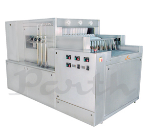 High Speed Linear Vial Washing Machine, Model: PLVW-100