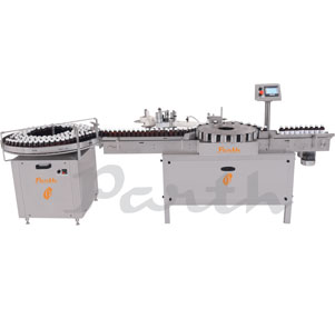Self Adhesive Bottle Sticker Labeling Machine Model-PASAL-240