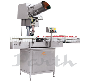 Automatic Single Head Screw Cap Sealing Machine-Model PASCS-60