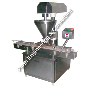 Single Head Auger Type Powder Filling Machine – Automatic Model-PAPF-50