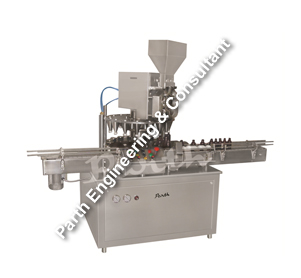 Automatic Rotary Dry Syrup Filling Machine
