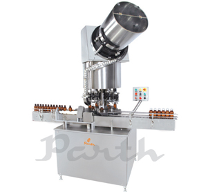 Automatic Four Head Ropp Capping Machine-model Parcs-100