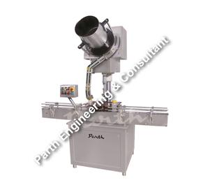 Automatic Single Head Screw Cap Sealing Machine-Model PASCS-60