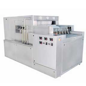 High Speed Linear Bottle Washing Machine Model: PLBW-150
