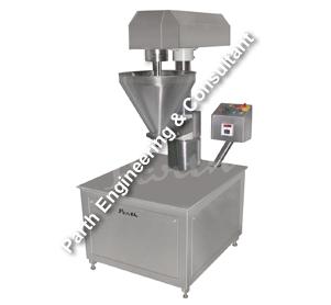 Semi Automatic Auger Type Powder Filling Machine 20 To 30bpm Model-PSAPF-30
