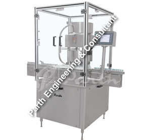 Automatic Single Head Vial Sealing Machine Model Pavcs-60