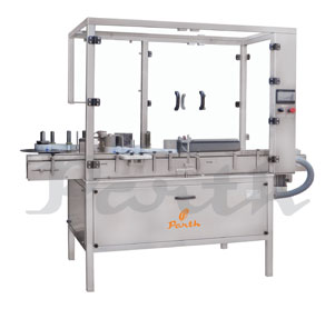 VERTICAL LABELLING MACHINE – AUTOMATIC VIAL STICKER LABELING MACHINE