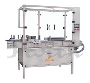 VERTICAL LABELLING MACHINE – AUTOMATIC VIAL STICKER LABELING MACHINE