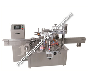 Wet Glue Labeling Machine (Flat/Square/Round Bottle Labelling Machine) Model Pawgbl-120
