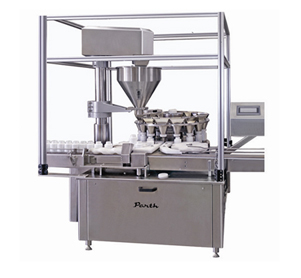 Automatic Rotary Vacuumetric Dry Syrup Filling Machine