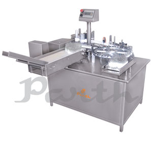 High Speed Ampoule / Vial Sticker Labeling Machine – Rotary Labeling Machine